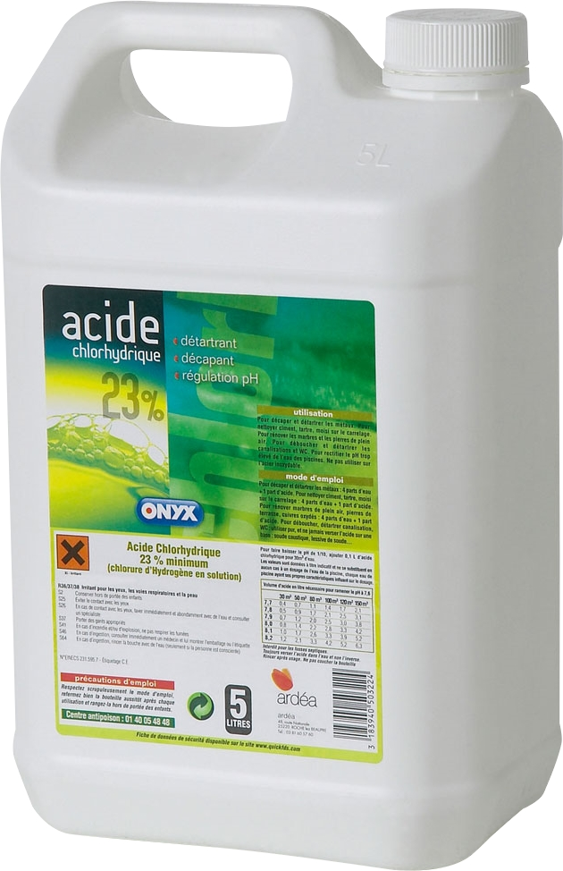 acide chlorhydrique