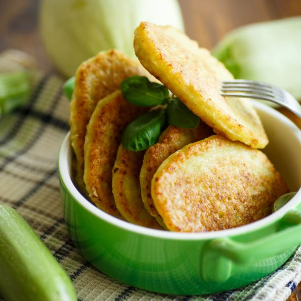 beignet de courgette