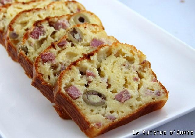 Cake Aux Olives Simple