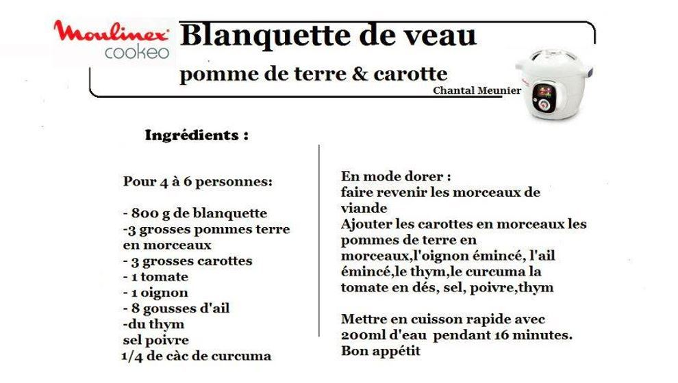 cookeo recette