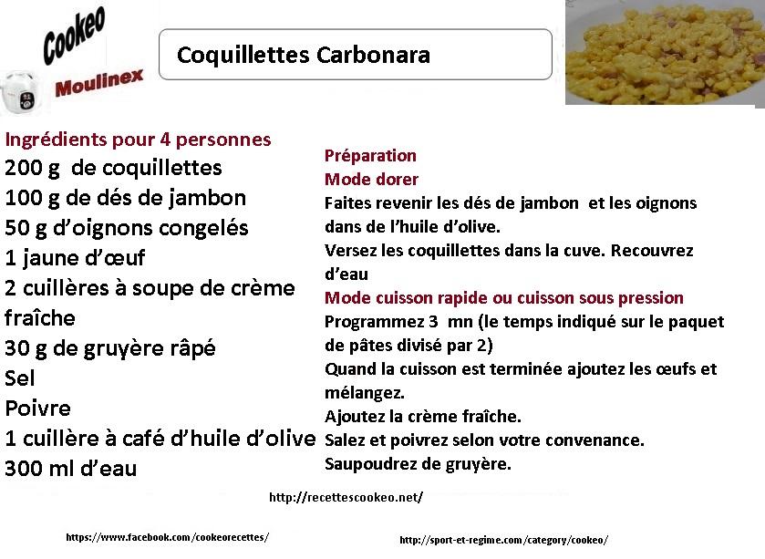 cookeo recette