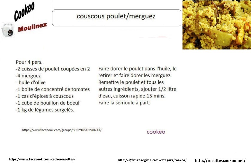 couscous cookeo