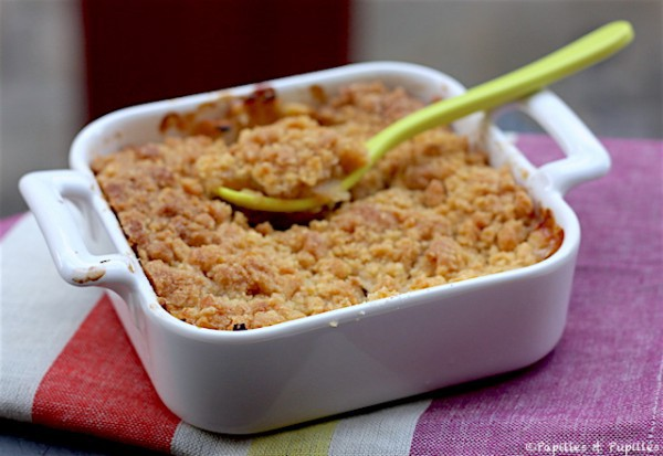 crumble pomme