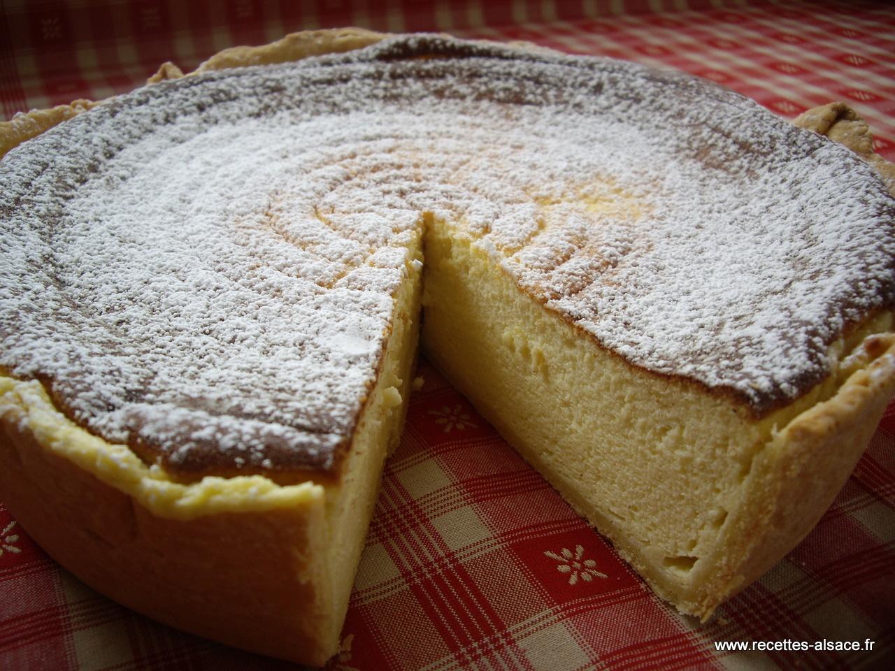 gateau au fromage blanc