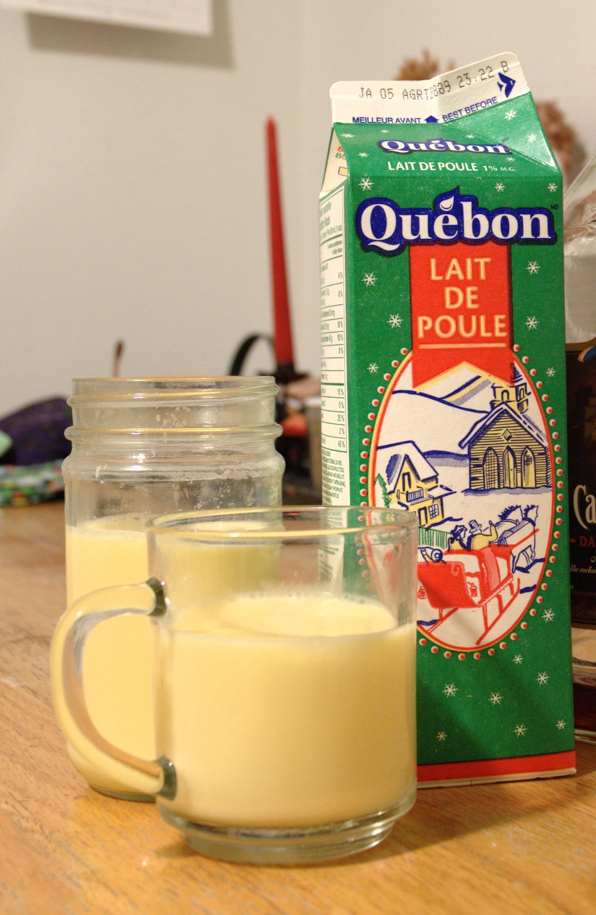 lait de poule