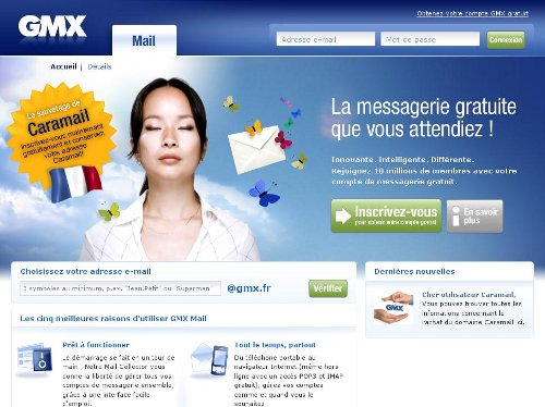 messagerie gmx