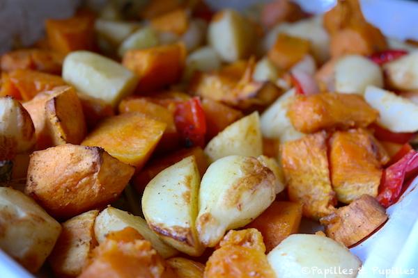 patate douce au four