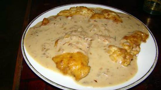 recette blanc de poulet