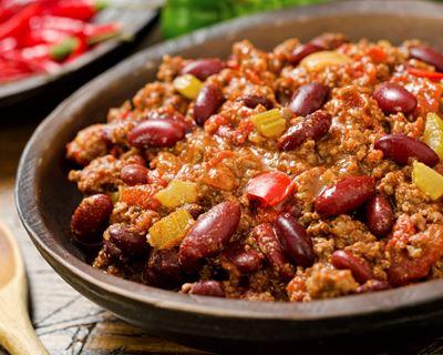 recette chili cone carne