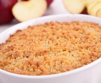 recette crumble pomme