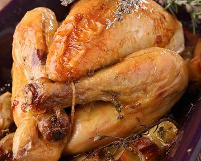 recette poulet au four