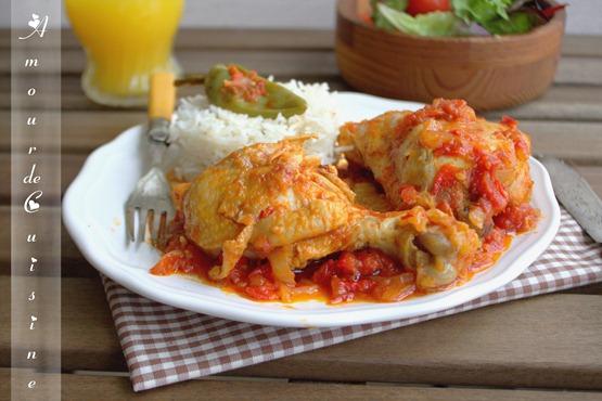 recette poulet basquaise