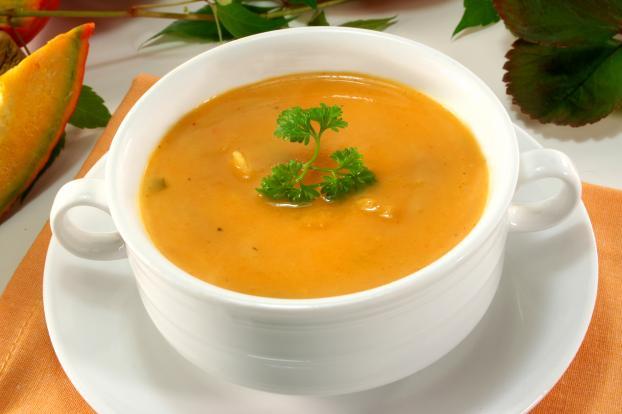 recette soupe potiron