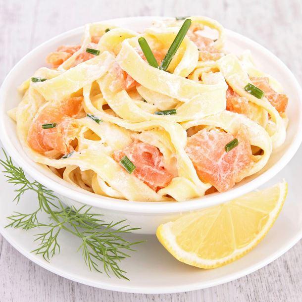 tagliatelle au saumon