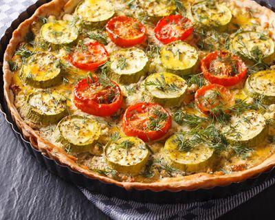 tarte aux legumes