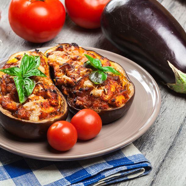aubergine au four