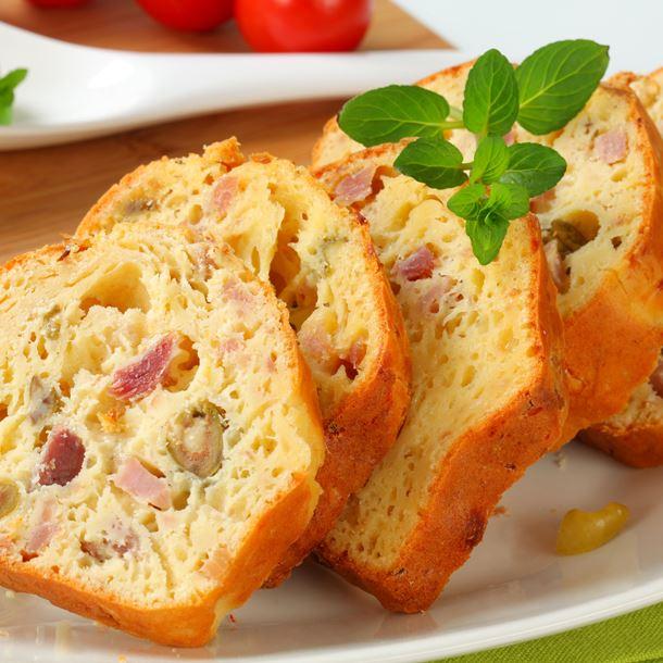 cake jambon olive