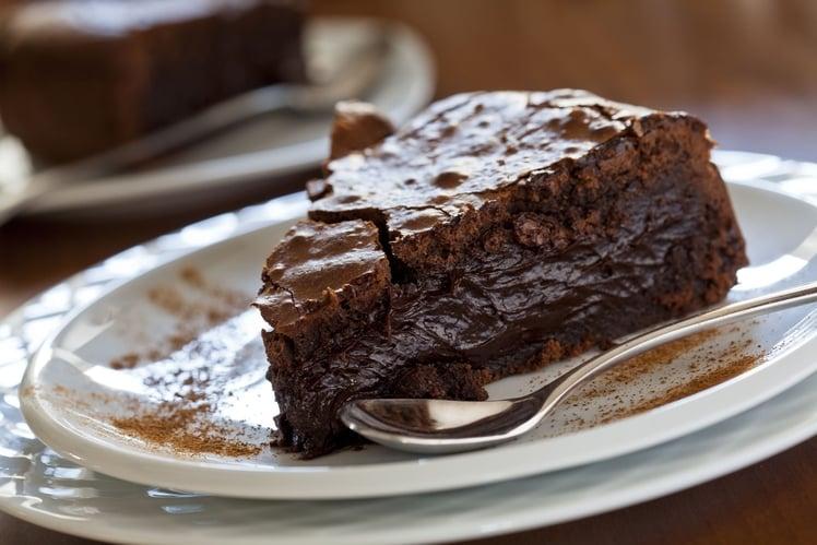 gateau au chocolat moelleux