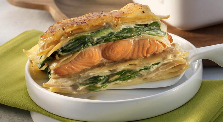 lasagne saumon epinard