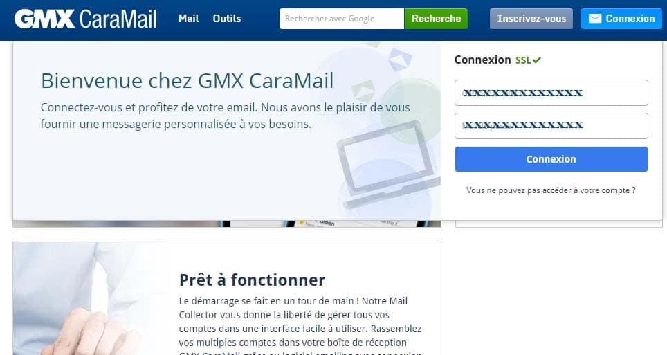 messagerie gmx