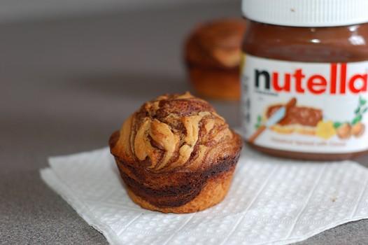 muffin nutella