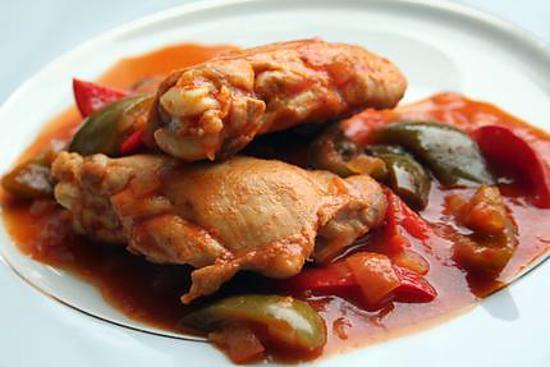 poulet basquaise