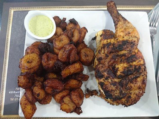 poulet braise