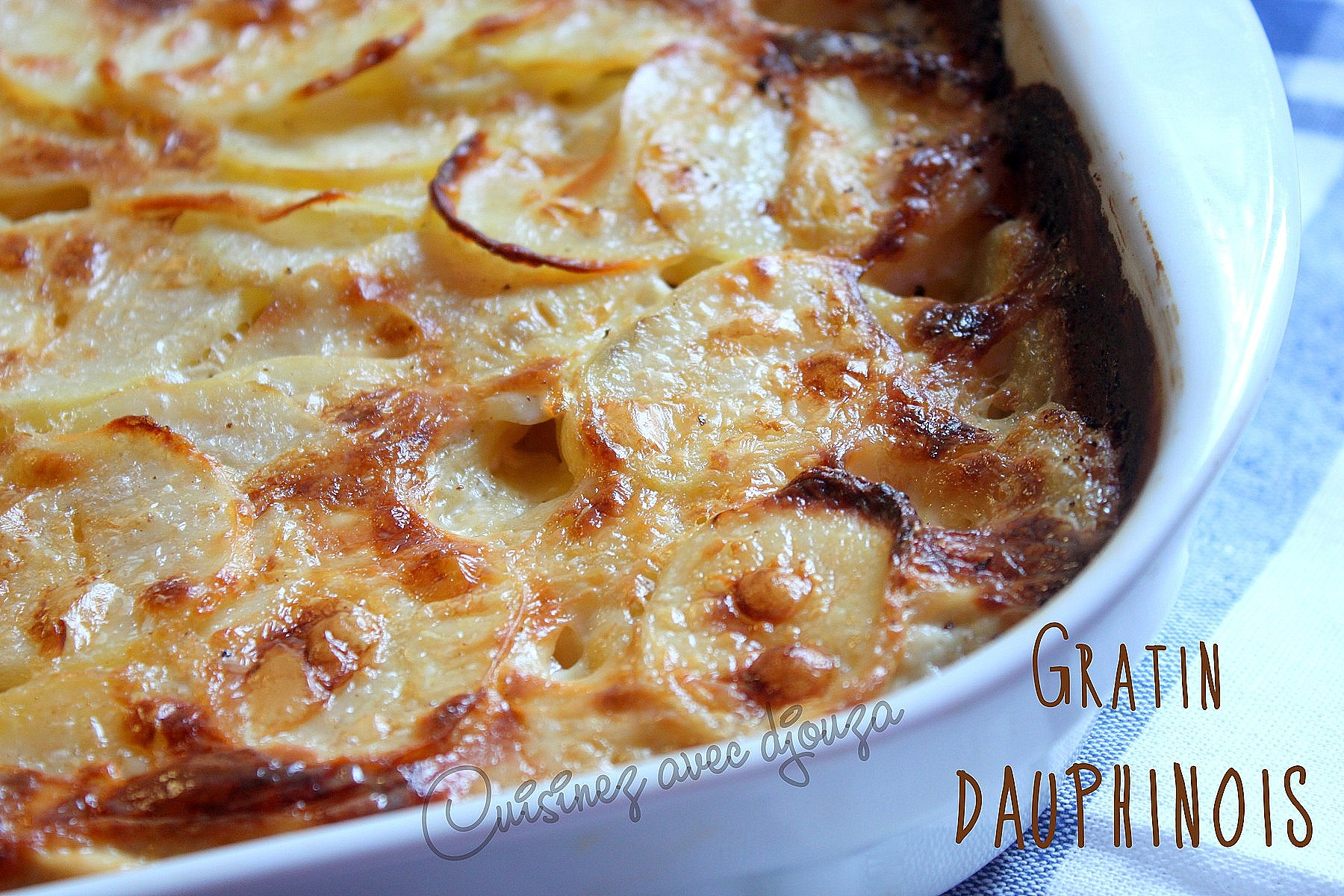 recette gratin dauphinois