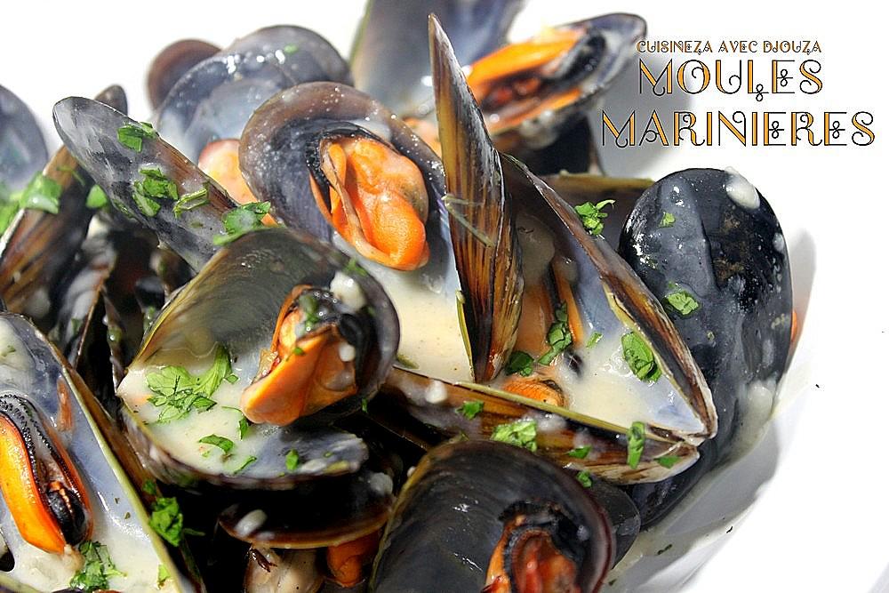 recette moules marinieres