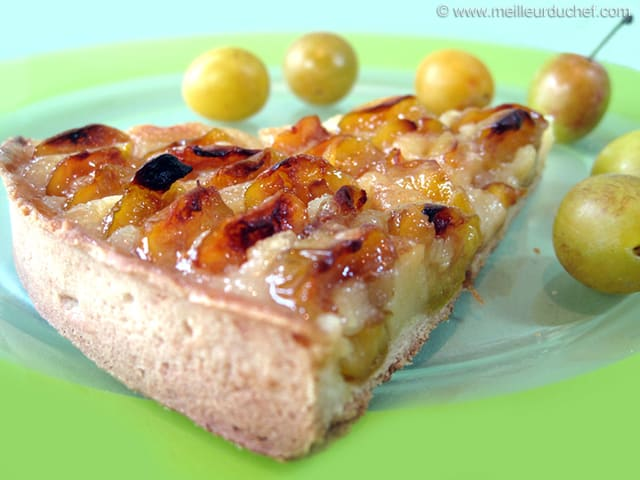 tarte aux mirabelles