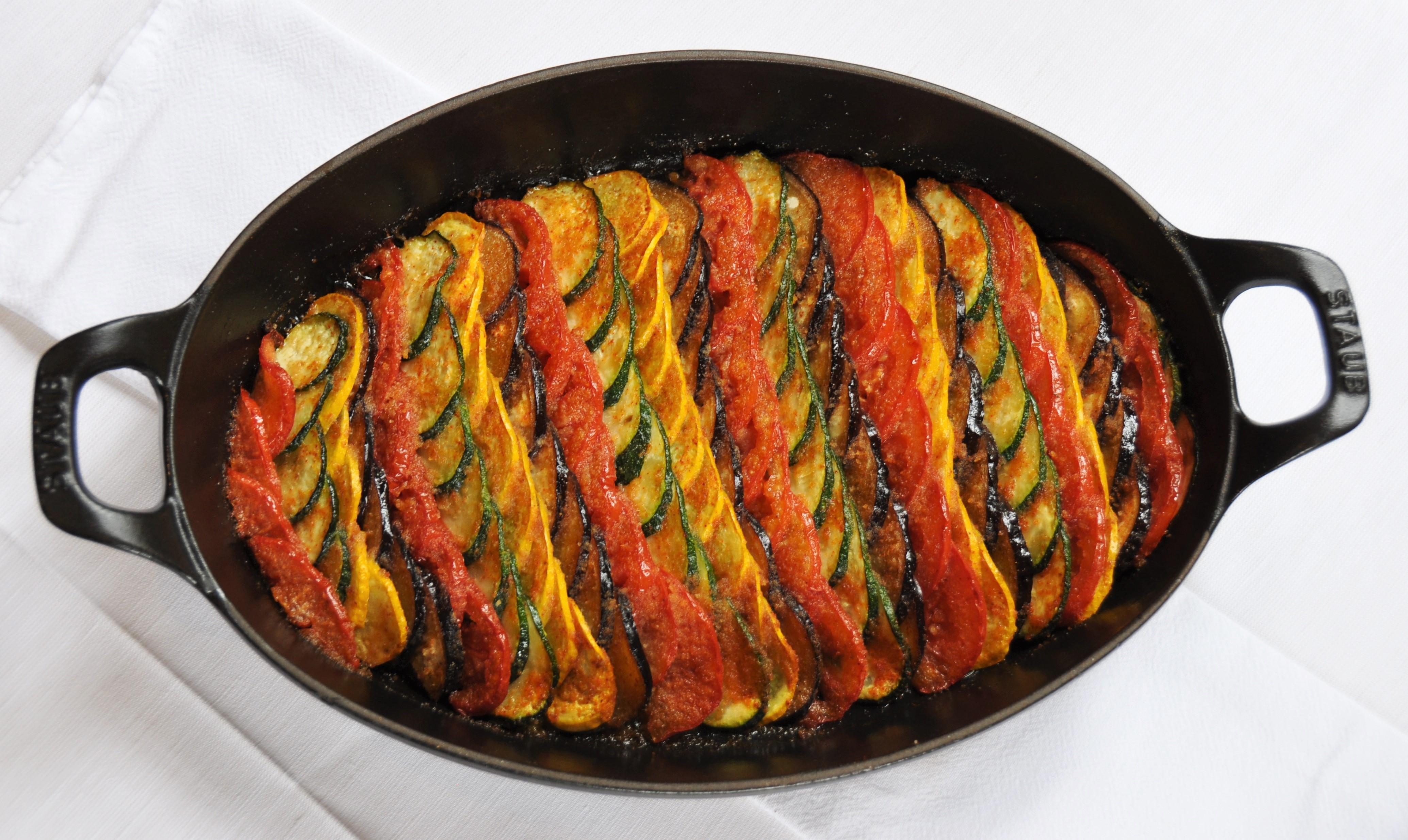 Recette Facile Du Tian Provencal tian de legumes